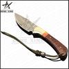 Snakewood handle Fixed blade new damascus knife blanks