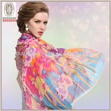 عالية الجودة والأوشحة الحرير شال من الحرير الجملة