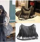 2014 latest design tassel bag for woman fringe tassel bag with high quality