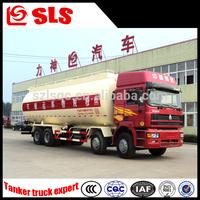 Stainless steel FAW,Sinotruk 8*4 bulk powder truck 35000 liters volume