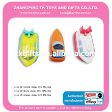 plastic and promotional toy ship for boys