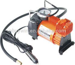 RAD Sportz portable mini air compressor 12v with Gauge for Bike/Auto