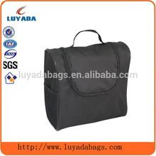 zipper closure hanging toiletry bag travel,toiletry bag black