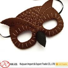 Hot sale !!! 2014 halloween decoration owl felt mask