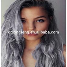 100% cheap manufacturer price Brazilian grey human hair weaving
