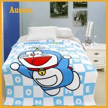 hot sale super soft cartoon print baby blanket filling polyester