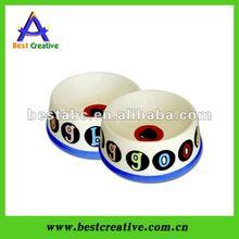 Hot sale plastic pet bowl