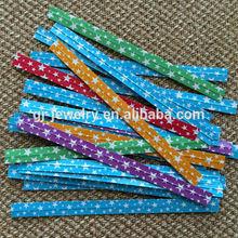 0.4cm/0.8cm width dot/star/heart paper twist tie