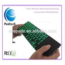2.4Ghz Black Aluminum Wireless Bluetooth Keyboard