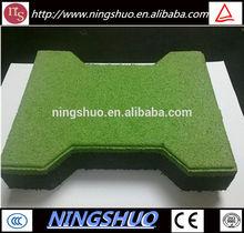 Outdoor playground rubber tile / rubber mat / rubber floor