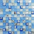 shell mix glass mosaic tile