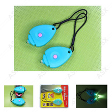 Red Blue Yellow Beauty Design Minilygter 1 led Strobe / brightness mode mini led bike light