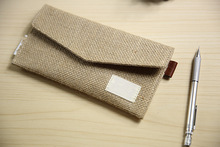 Graceful Simple Ladies Wallet Plain Fabric Purse