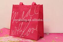 Promotion non woven cheap logo shopping tote bags