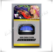 China hair dye /hair chalk comb, powder hair dye