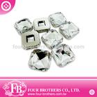23x23 flatback crystal rhinestone buttons garment accessories manufacturer