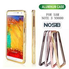 Luxury Crystal Rhinestone Cell Phone Case For SAM note 3 n9000