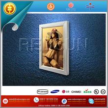 aluminum Elegent style diy poster lightbox display