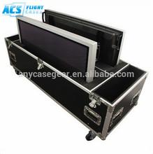 "ATA screen case for 60-65"" ,2 screens plasma lcd flight case,china flight cases"
