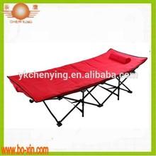 Metal folding steel bed
