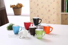 color glaze wholesale ceramic coffee mug