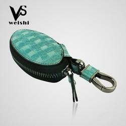elegant business gift genuine leather car remote key case/keycase/key holder/key bag on sale