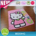 Dernier bébé produits 2014 disney usine gros bonjour kitty cartoon bébé lit motif. couvertures. faits à la main couverture de bébé en gros
