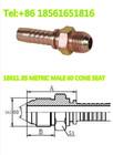 JIS METRIC MALE 60 CONE SEAT , hydraulic hose fitting , tube fitting