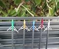 Deux lames bleu, flèche pour traditionnelles des flèches