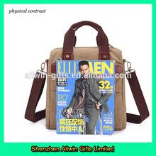 Custom Men Fashion Leisure Shoulder Bag For Laptop 2014