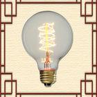 Globe style 95 edison bulb lighting