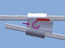 Low voltage electric wedge connectors