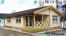 villas modern prefabricated log cabins wooden house