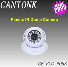 360 Degree Adjustable Direction, Easy Installation 30pcs IR leds Plastic Housing CCTV Camera Indoor dome camera Price List