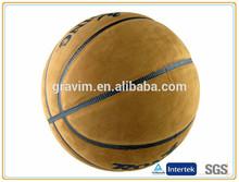 high quality standard size 7 laminated micro fiber PU leather brand logo custom basketball