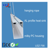 hot new products for 2015 extrusion hanging led aluminum profile for led light bar