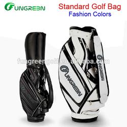 High Quality Custom Golf Bag With 100% Slap-up PU Leather