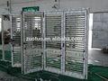 Persianas de aluminio de la puerta plegable, plegable de aluminio del obturador
