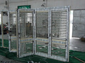 persiana de aluminio plegable de la puerta del obturador