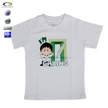 kid clothes cotton short sleeve children clothes ,children t shirt/t-shirt with cartoon imagines for kid wear