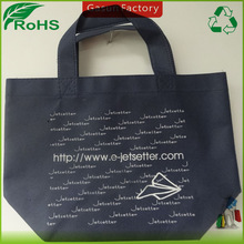 Gasun made non woven fabric small gift bag with handle crossed stich