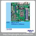 Estante de asrock micro atx z97m ws lga 1150 socket intel core 4th& 5th gen de la placa base de estación de trabajo