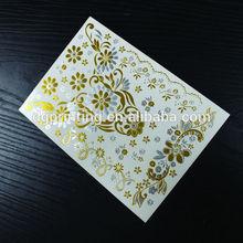 custom skin Jewelry temporary gold foil metallic foil flash tattoo airbrush tattoo