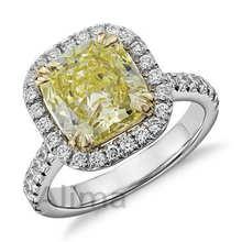 AGR0518 # 1 Carat Fine Jewelry Solid 9k White Gold Diamond Ring Engagement Bridal Wedding Ring Set For Ladies