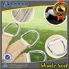 HDPE uv protection outside sun shade sail cloth net/shade screen