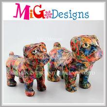 Ceramic Dog Cartoon Shape Money Box Wholesale Strength product