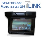5inch LCD Display Waterproof Motorcycle Navigation GPS Accept World Map OEM Factory Price