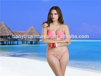 2015 brazilian women bikini set,cheap bandage tied swimsuit sexy fashion bikini ,girls push up print bikini