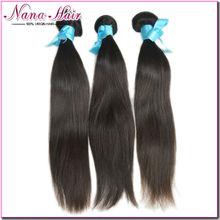 Free Sample 6A grade straight 100% Virgin Raw Unprocesse virgin indian hair weaving