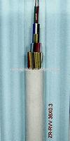 iec 53 copper core PVC insulated flame-retardant PVC sheath flexible cable ZR-RVV